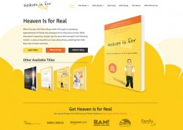 Heaven is for Real Website