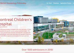McGill Neonatology Fellowship in Montreal, Quebec - Canada