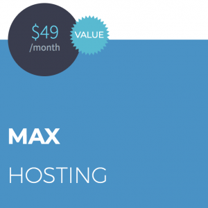 MAX Website Hosting