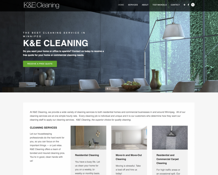 K&E Cleaning Winnipeg
